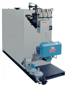Bryan AB Series forced draft gas, oil, dual fuel boilers and high efficiency boilers.