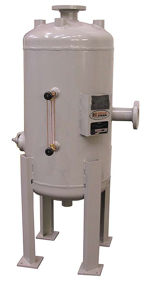 bryan steam vertical boiler blowdown tank
