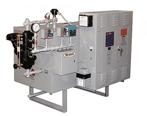 BE Series electric hot water boilers and electric steam boilers.