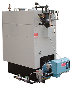 CLM Series high efficiency, hot water boilers and steam boilers.