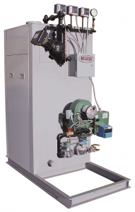 DR Series Dual Fuel, Forced Draft High Efficiency Boilers