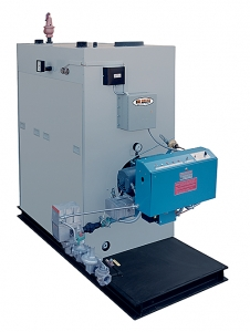 HE-AB Series forced draft, high efficiency boilers.