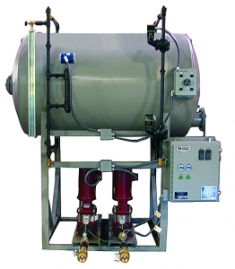 Horizontal boiler transfer systems.