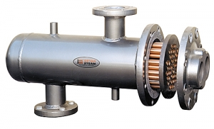 Bryan Steam u-tube water to water and steam to water heat exchangers.