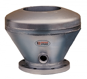 Steam Exhaust Heads give 3 levels of protection against oil and water pollution.